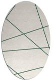 rug #373710 | oval abstract rug