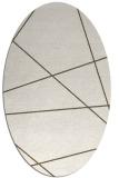 rug #373872 | oval abstract rug