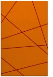 rug #374117 |  red-orange abstract rug