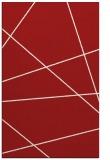 rug #374177    red stripes rug