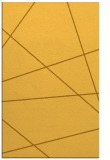 rug #374233 |  light-orange abstract rug