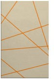 rug #374245 |  orange abstract rug
