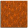 rug #377009 | square red-orange natural rug