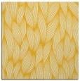 rug #377033 | square yellow rug