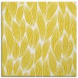 rug #377045 | square yellow natural rug