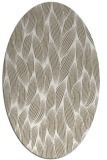 rug #377237 | oval white rug