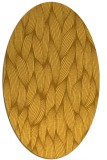 rug #377401 | oval light-orange natural rug