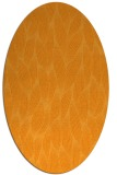 rug #377441 | oval light-orange popular rug