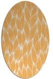 rug #377445   oval light-orange natural rug