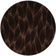 rug #377817 | round brown rug