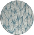 rug #377825 | round white natural rug