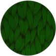 rug #377869 | round green popular rug