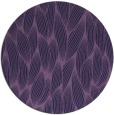 rug #377897 | round purple natural rug