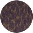 rug #378033 | round mid-brown natural rug