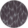 rug #378037 | round purple natural rug