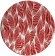 rug #378041   round red natural rug