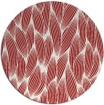 rug #378049   round red natural rug