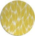 rug #378101 | round yellow popular rug