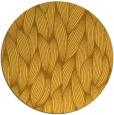rug #378105 | round light-orange natural rug