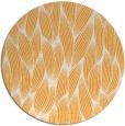 rug #378149 | round light-orange natural rug