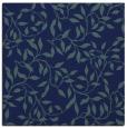 rug #378537 | square blue natural rug