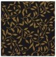 rug #378621   square black natural rug