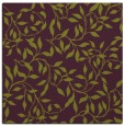 rug #378733 | square purple natural rug