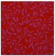 rug #378757 | square red natural rug