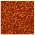 rug #378761 | square red-orange natural rug