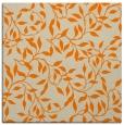 rug #378821   square orange rug