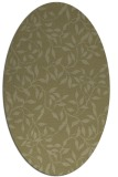 rug #379181 | oval light-green rug