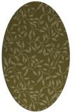 rug #379189 | oval light-green rug
