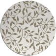 rug #379561 | round beige natural rug