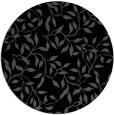 rug #379569 | round black natural rug