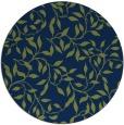 rug #379597 | round blue natural rug