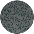rug #379689 | round blue-green natural rug