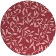 rug #379777   round pink natural rug