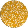 rug #379897 | round light-orange natural rug