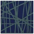 rug #380297 | square blue abstract rug