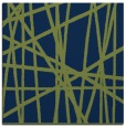 rug #380301   square blue abstract rug