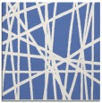 rug #380305   square blue abstract rug