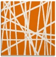 rug #380457 | square orange abstract rug
