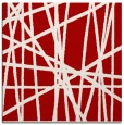 rug #380505 | square red stripes rug