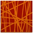 rug #380509 | square red stripes rug
