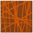 rug #380529 | square red-orange stripes rug