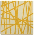 rug #380553 | square yellow abstract rug