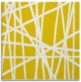 rug #380565   square yellow abstract rug