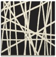rug #380573 | square black stripes rug