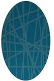 rug #380667   oval abstract rug