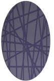 rug #380707 | oval abstract rug